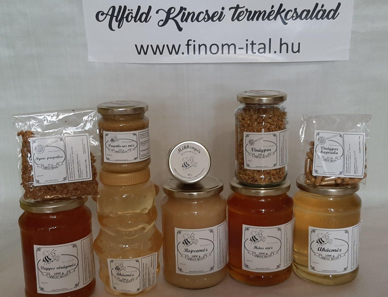 Alföld kincsei natúr méhészeti termékek